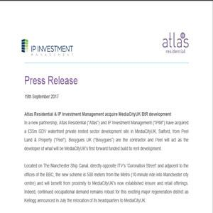 Press releases - IP Investment Management